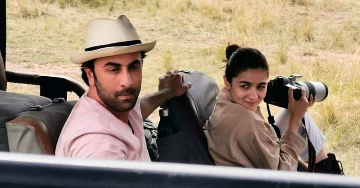 Vacaytime: Ranbir, Alia holiday in Kenya