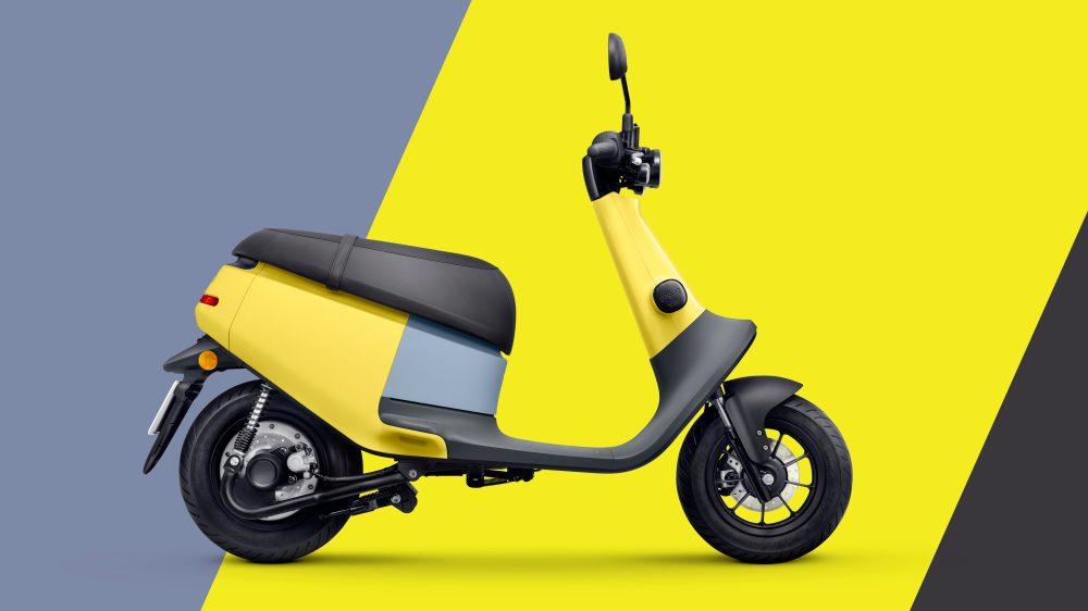 Gogoro to Launch Electric Scooters Images