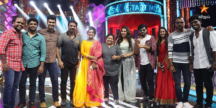 Vijay TV Start Music Today's Full Episode 25th April 2021: 'Master The Blaster' Latest Updates